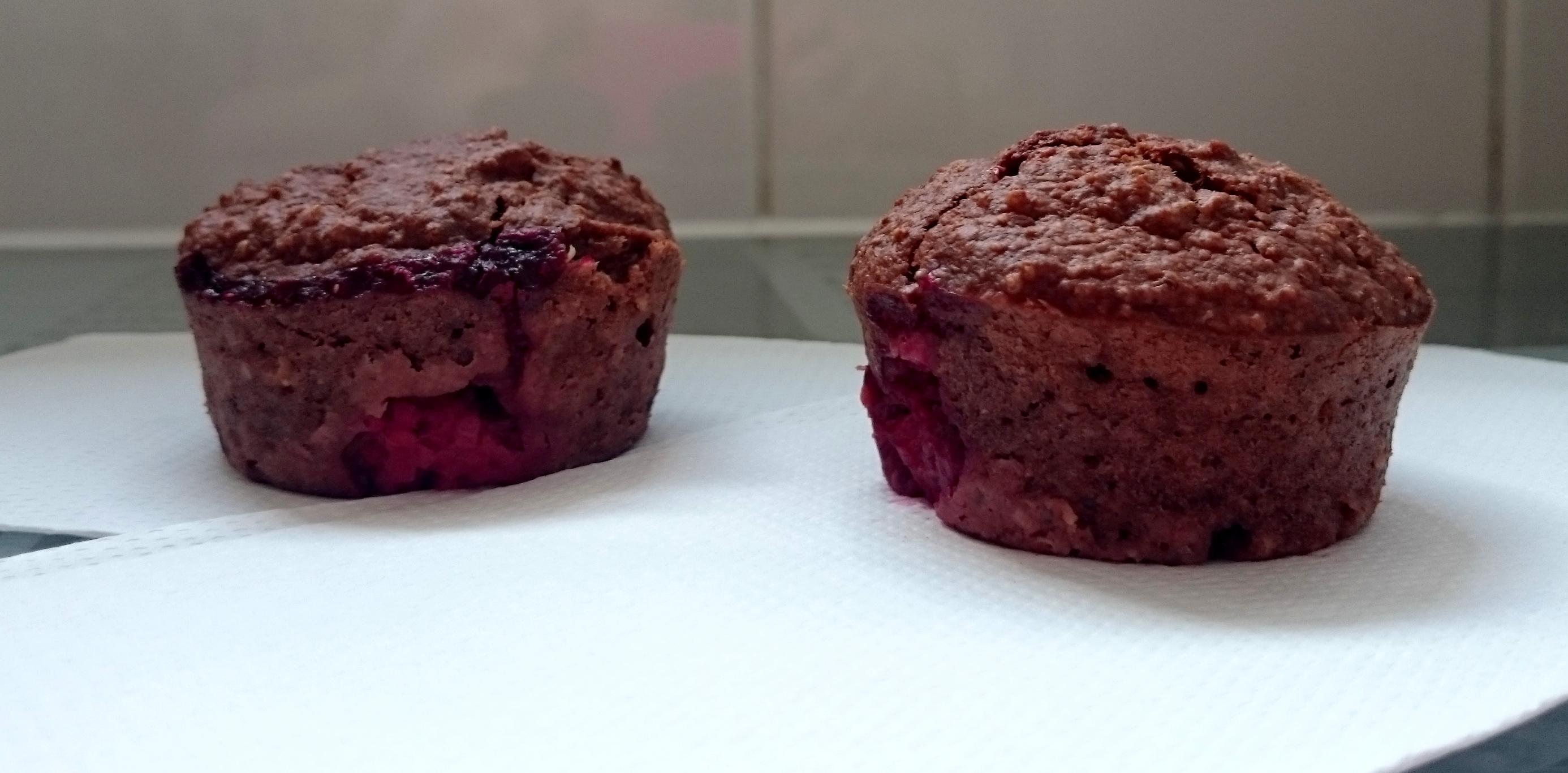 muffina z komosą