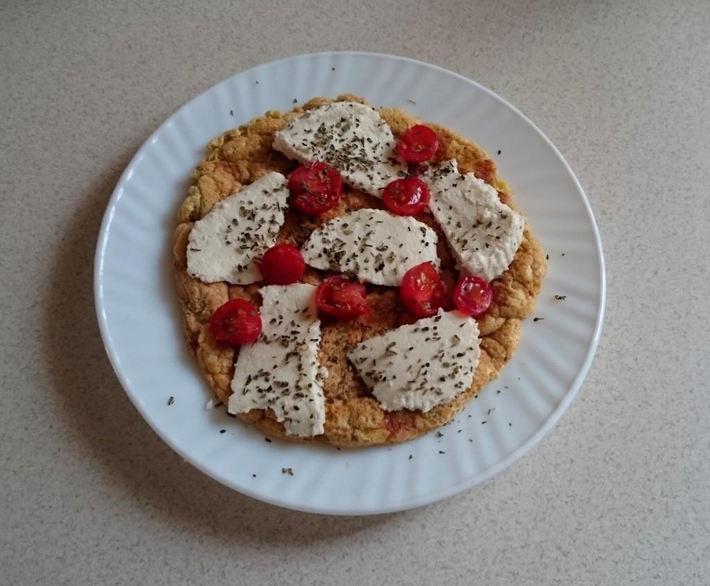 omlet z twarogiem