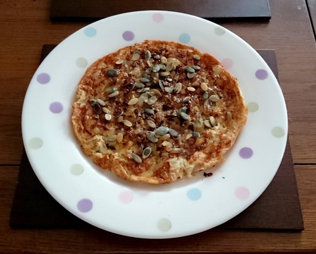 omlet cebulowy