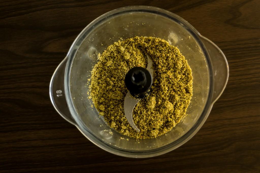 masło pistacjowe wykonanie