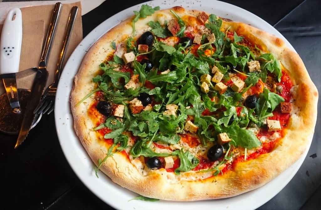 weganska pizza