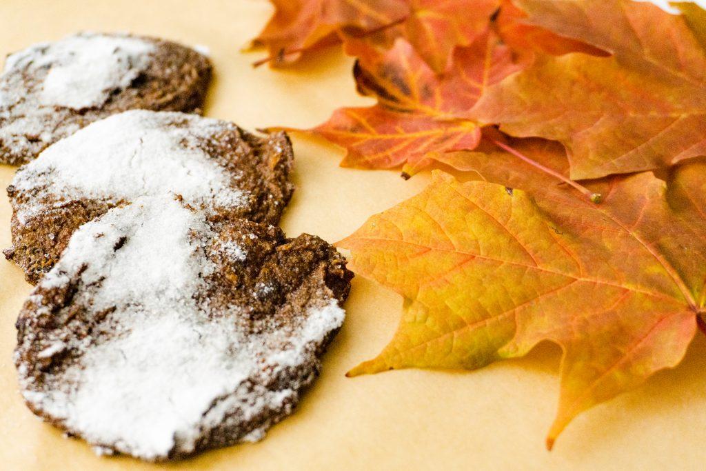 Czekoladowe ciasteczka z dyni