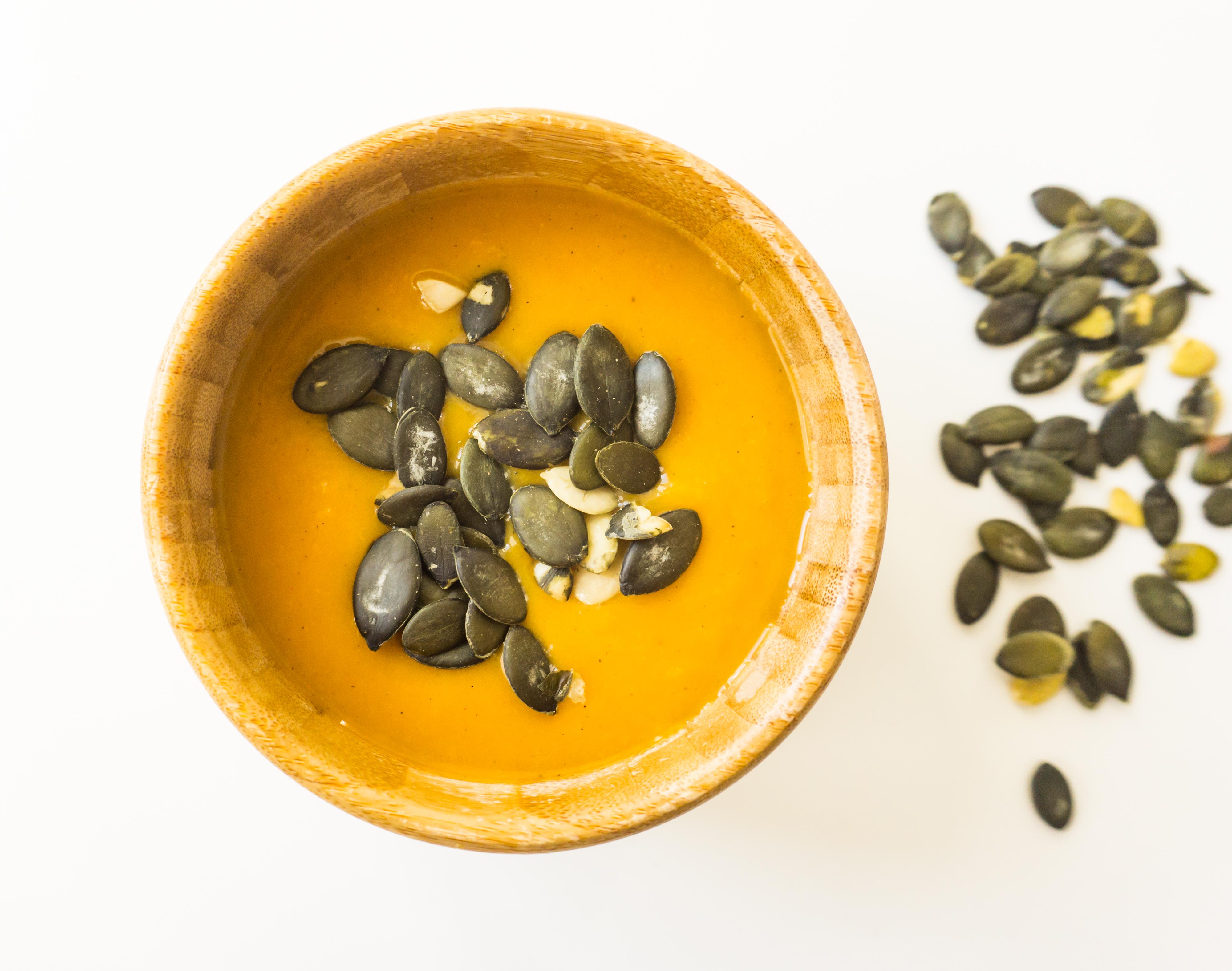 Zupa-krem z dyni piżmowej