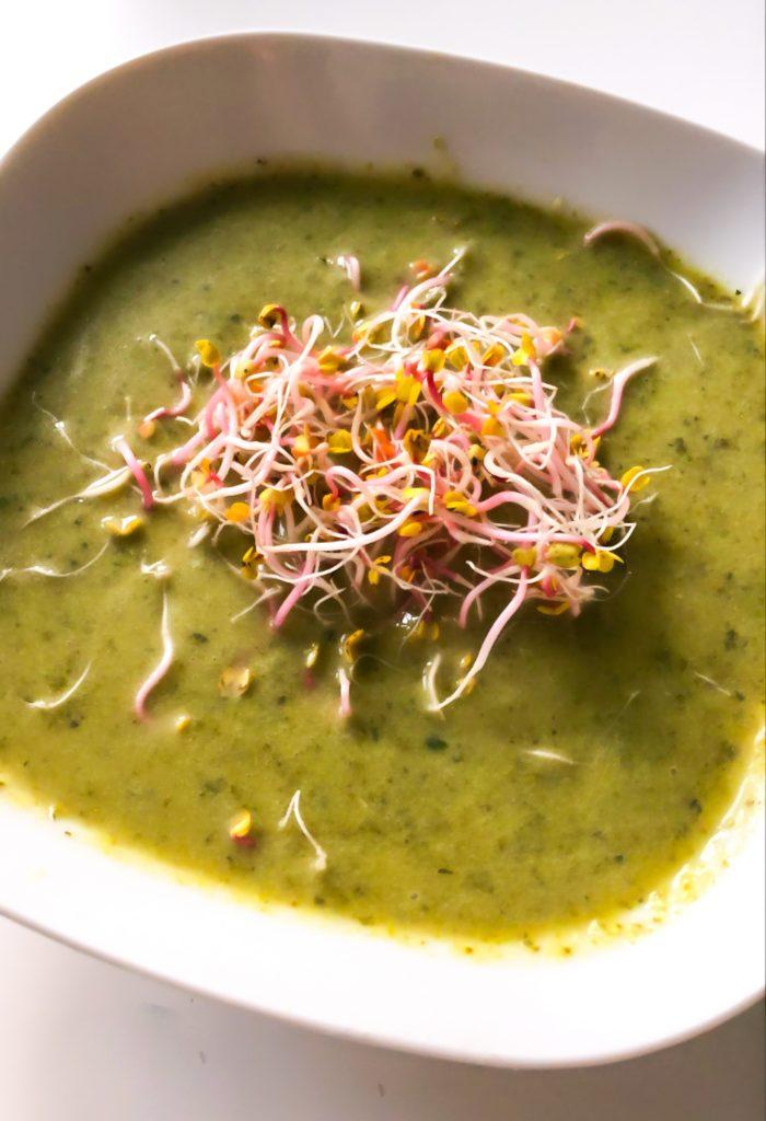 zielona zupa-krem
