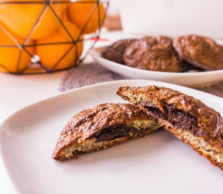 Twarogowe bułeczki z czekoladą